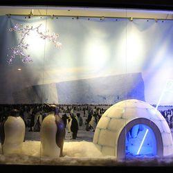 """Snow Hill Island, Antartica"" by Trip Haenisch at Jamal's Rug Collection (657 N La Cienega Blvd)"