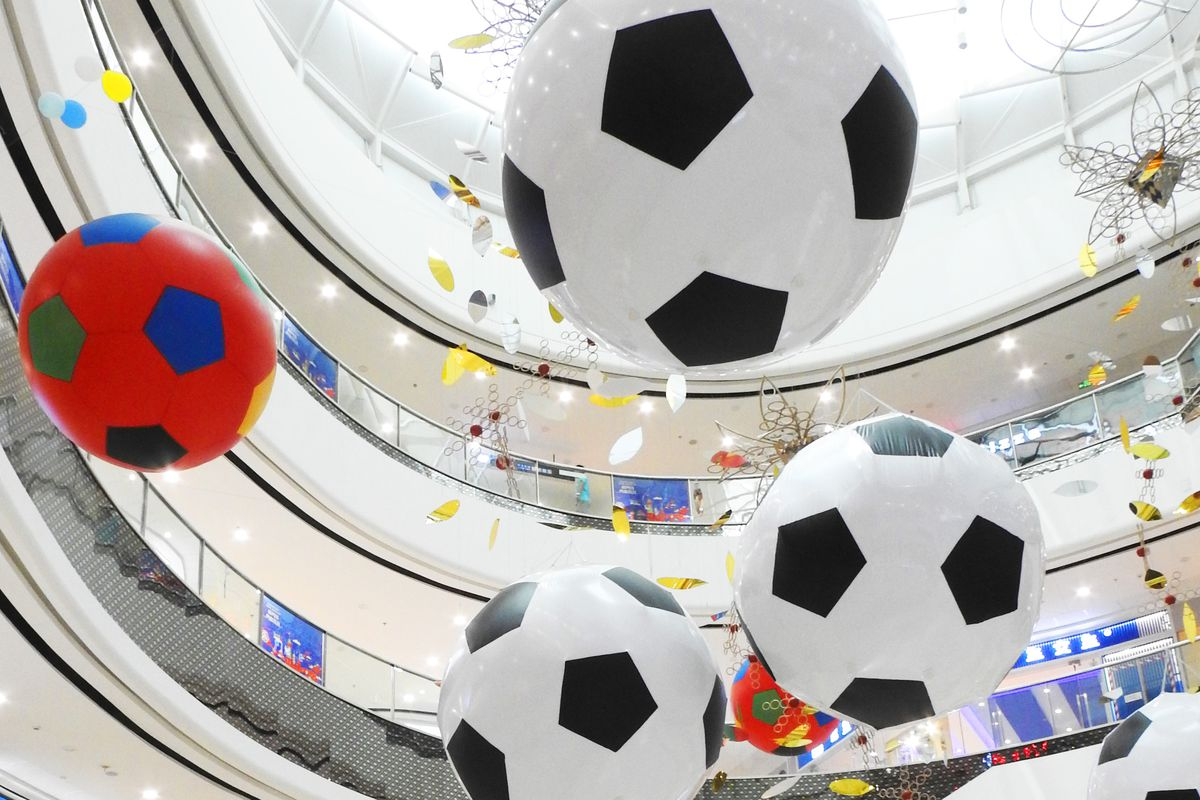 Chinese Welcome FIFA World Cup
