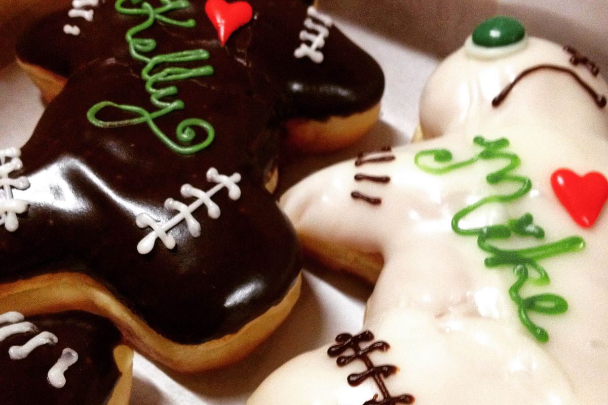 These doughnuts were seriously harmed in the interest of this story