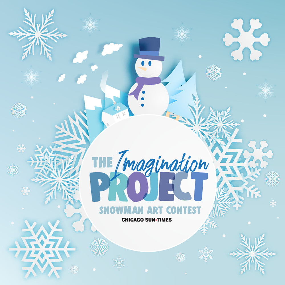Find the details on how to enter your snowman creation in The Imagination Project at Suntimes.com/imagination