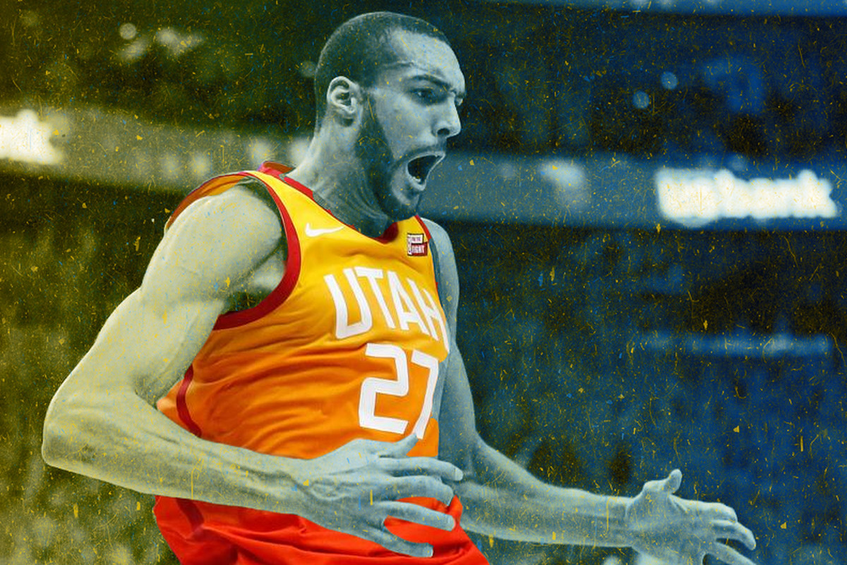 02bea8c24 Utah Jazz center Rudy Gobert has a chip on his shoulder. For him