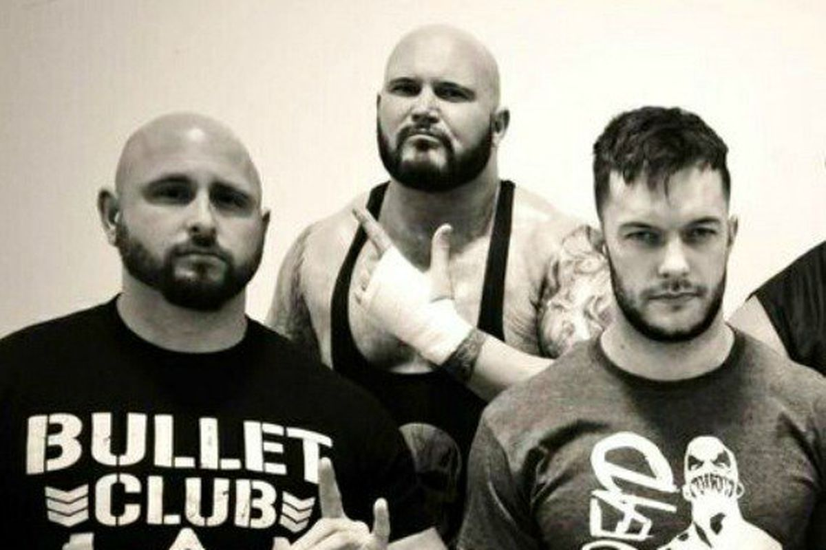 Image result for finn balor anderson gallows club