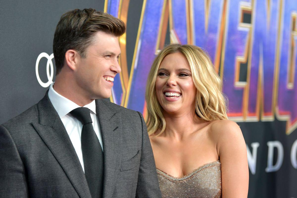Scarlett Johansson Colin Jost Engaged Chicago Sun Times