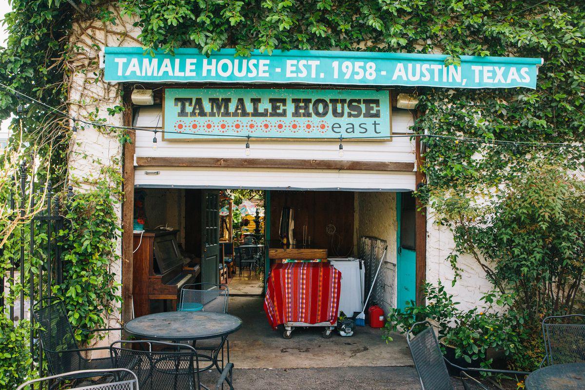 The back ofTamaleHouseEast, where the restaurant really all began