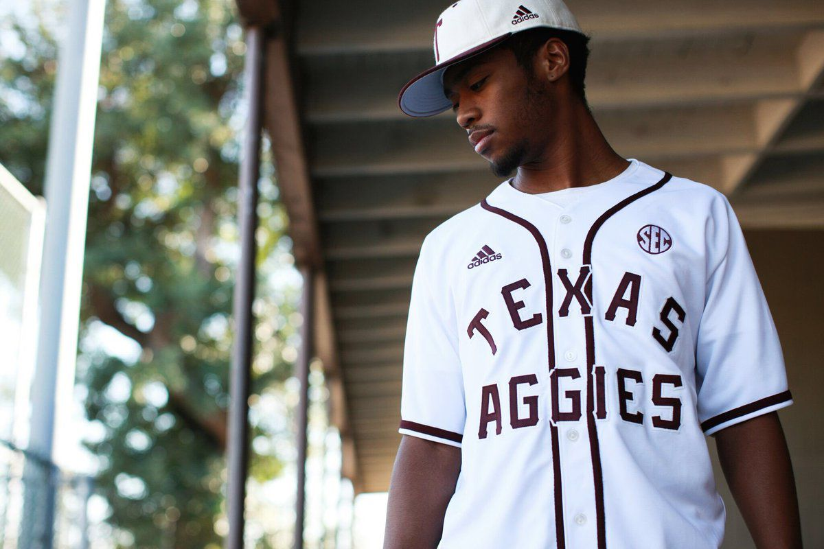 premium selection 16490 15dc9 Texas A&M Baseball unveils 'Heritage' uniform - Good Bull ...