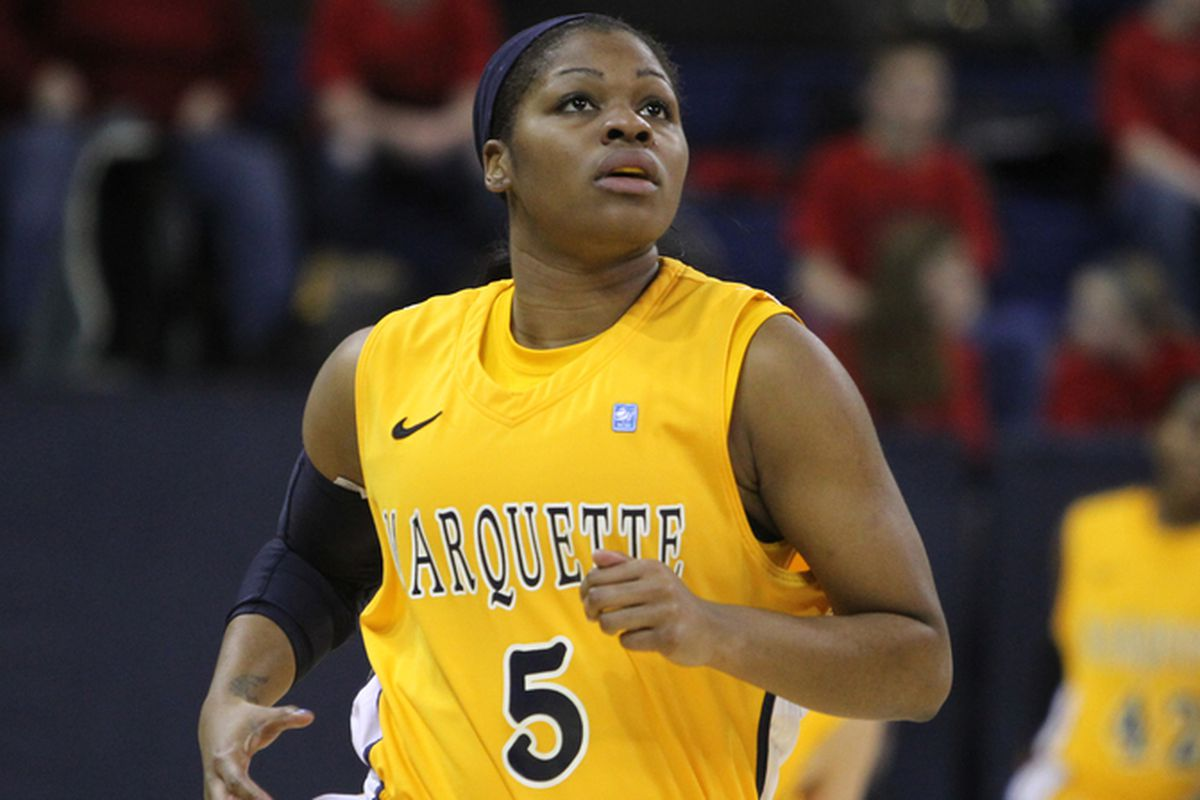 How many more double-doubles does Katie Young have in her this season?
