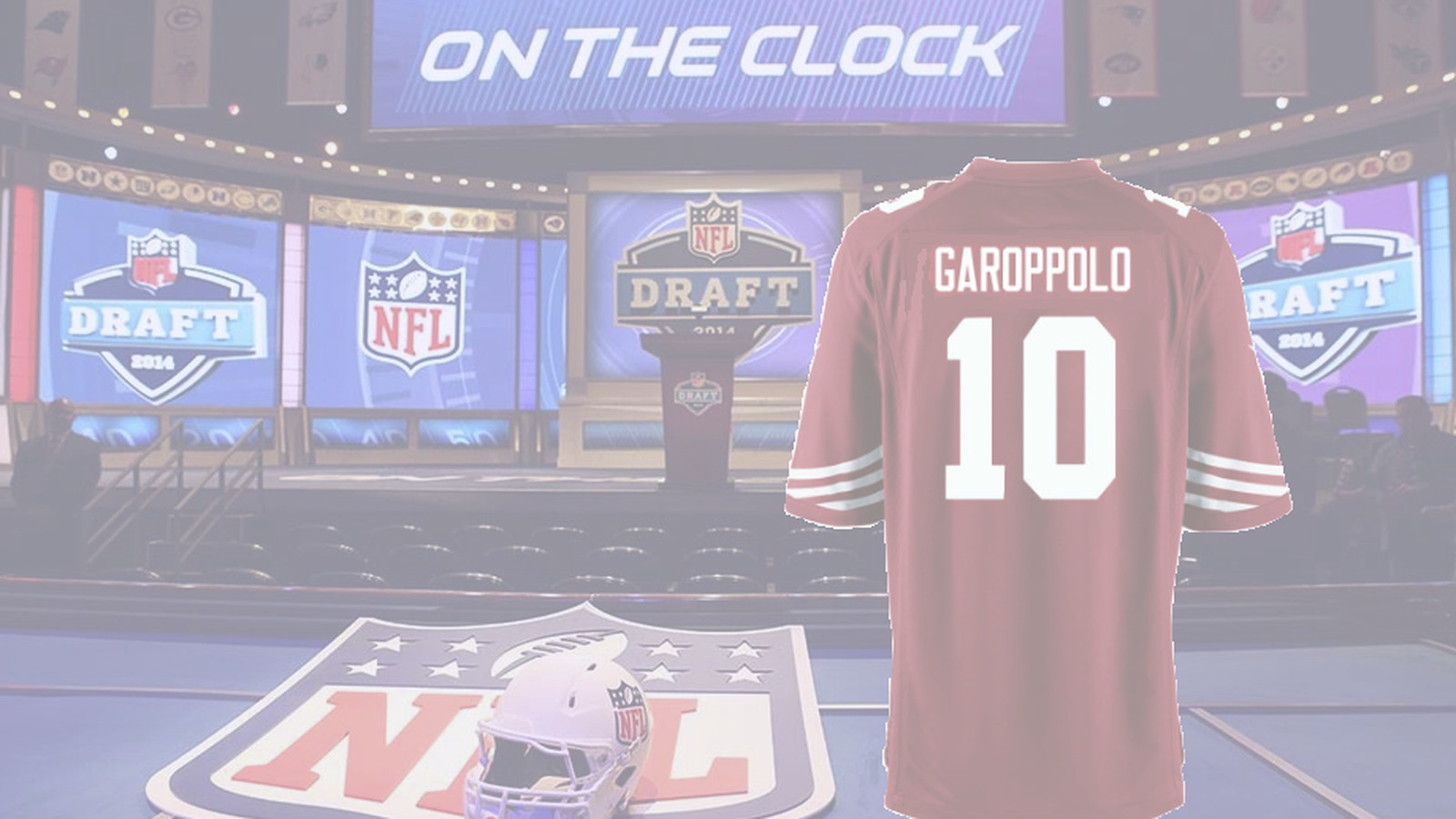 separation shoes f2a64 bc0fe How Jimmy Garoppolo becomes a 49er - Niners Nation