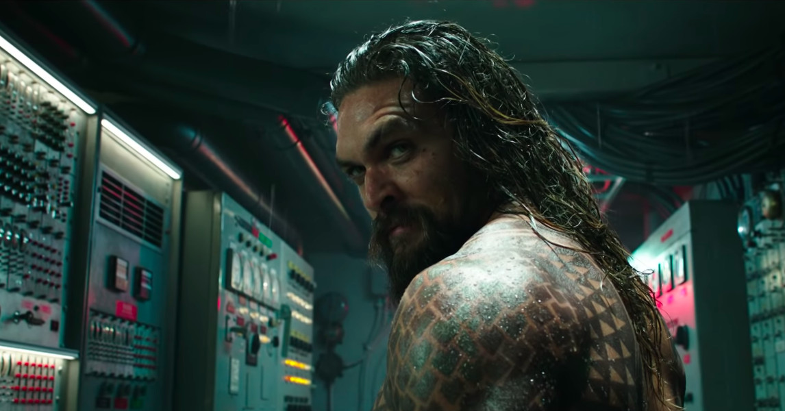 Watch the first trailer for DC's Aquaman