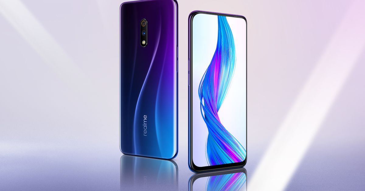 Realme Announces Super-cheap Flagship Phone with Pop-up Selfie Camera
