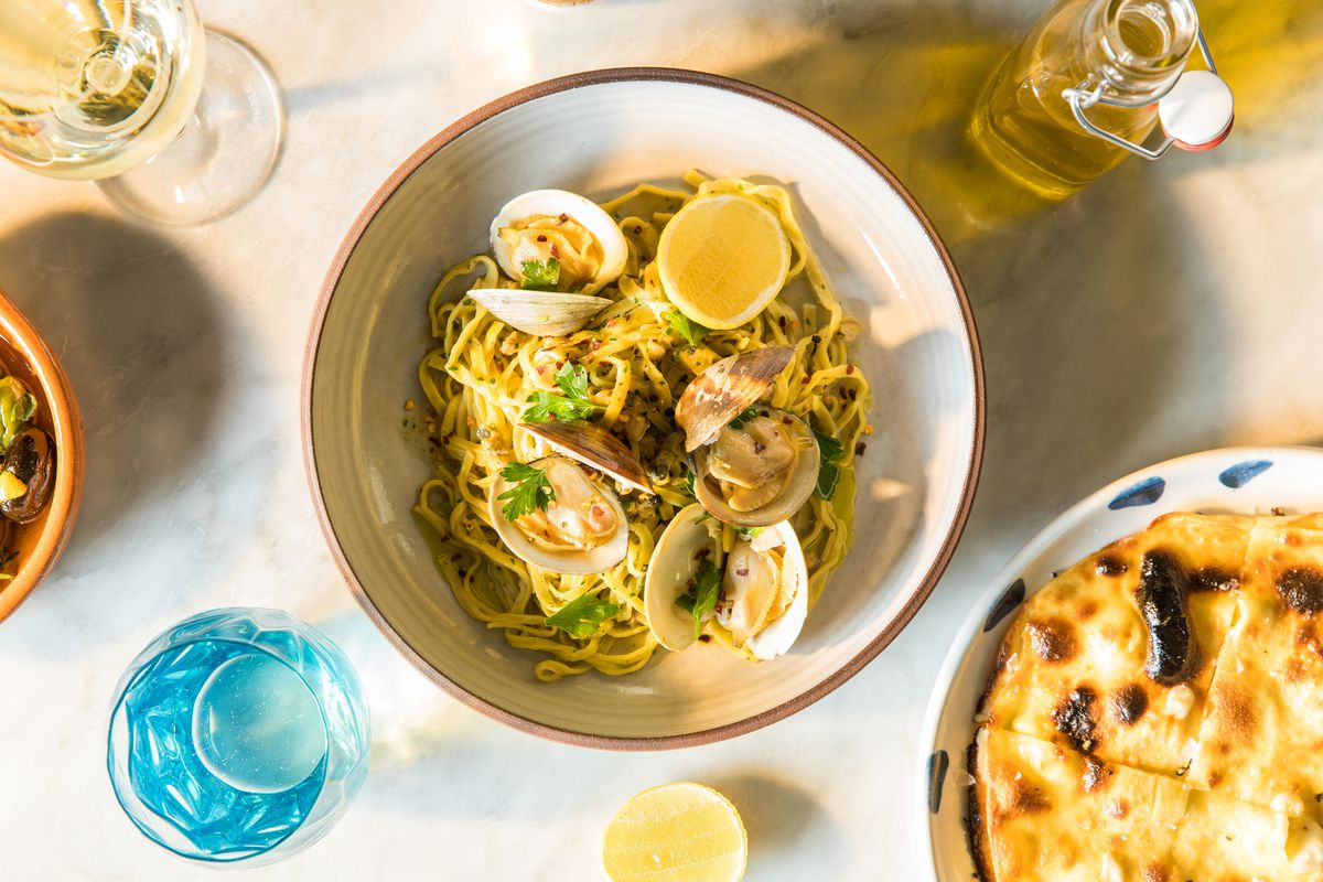 Linguine And Clams At The Original Osteria Costa Anthony Mair Photography Visitors Mgm National Harbor