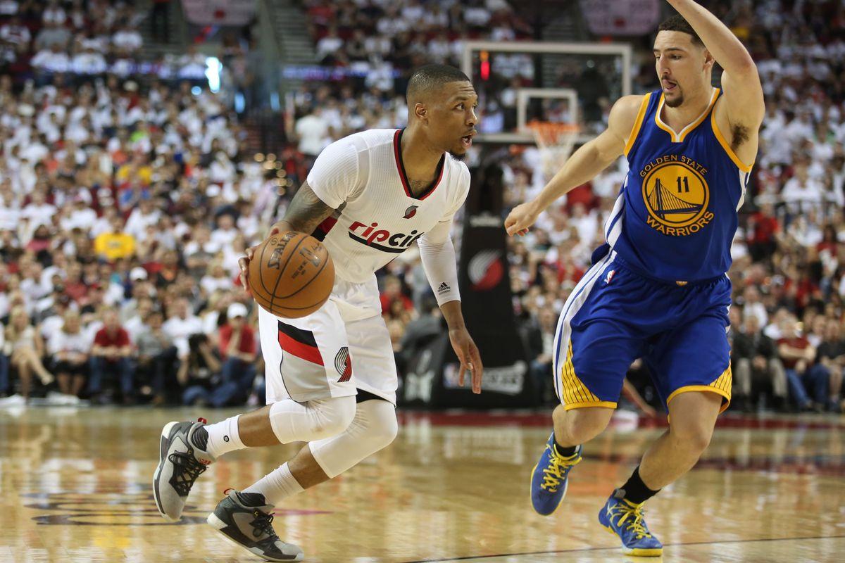 Warriors vs. Blazers 2016 final score: Damian Lillard ...