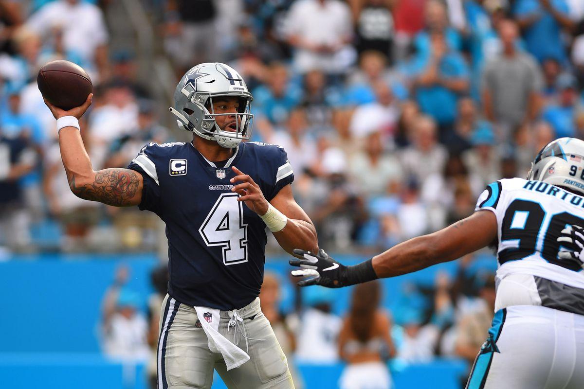 NFL: Dallas Cowboys at Carolina Panthers