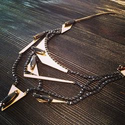 """<a href=""""http://instagram.com/p/cXLxETqrLj/"""">@honeyintherough</a>: ALL Jewelry 20% OFF : IOSSELLIANI Tangled Necklace"""