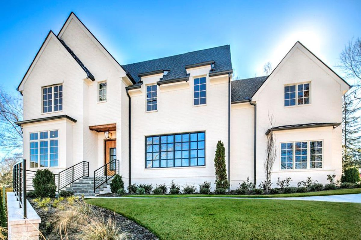 A photo of a massive nearly $3 million house for sale near Atlanta's Chastain Park.