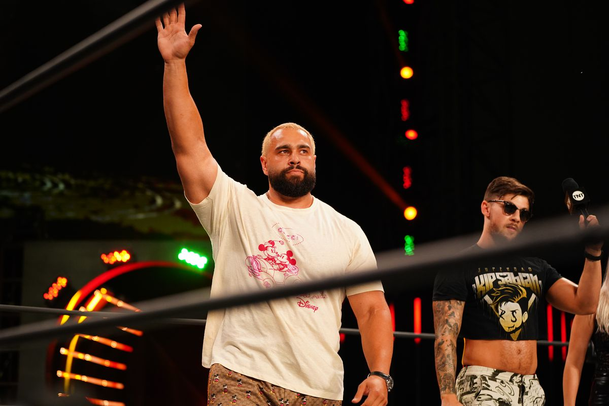Miro 'absolutely' worried Lana will get heat for his AEW debut promo - Cageside Seats