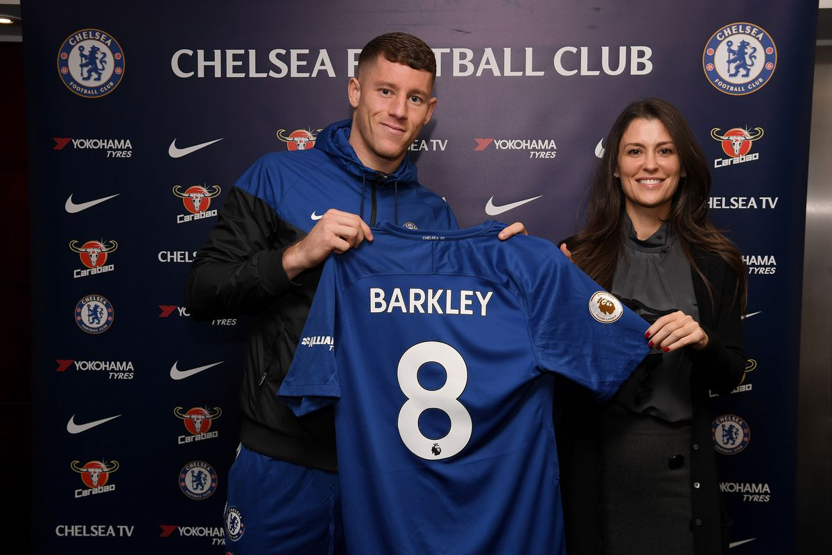 Chelsea Unveil New Signing Ross Barkley