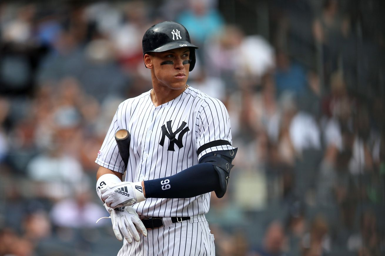 Aaron Judge has flaws as a hitter, and that's OK