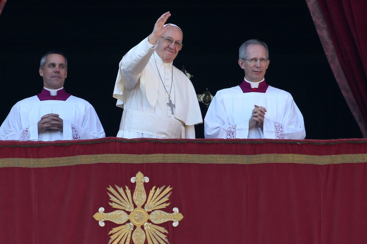 Pope Francis Delivers His Christmas Urbi Et Orbi Blessing