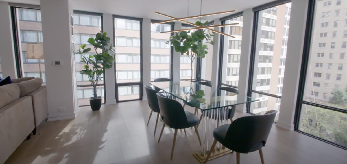 "The condo at 200 E. Delaware Place is shown in this ""after"" shot from ""Windy City Rehab."""