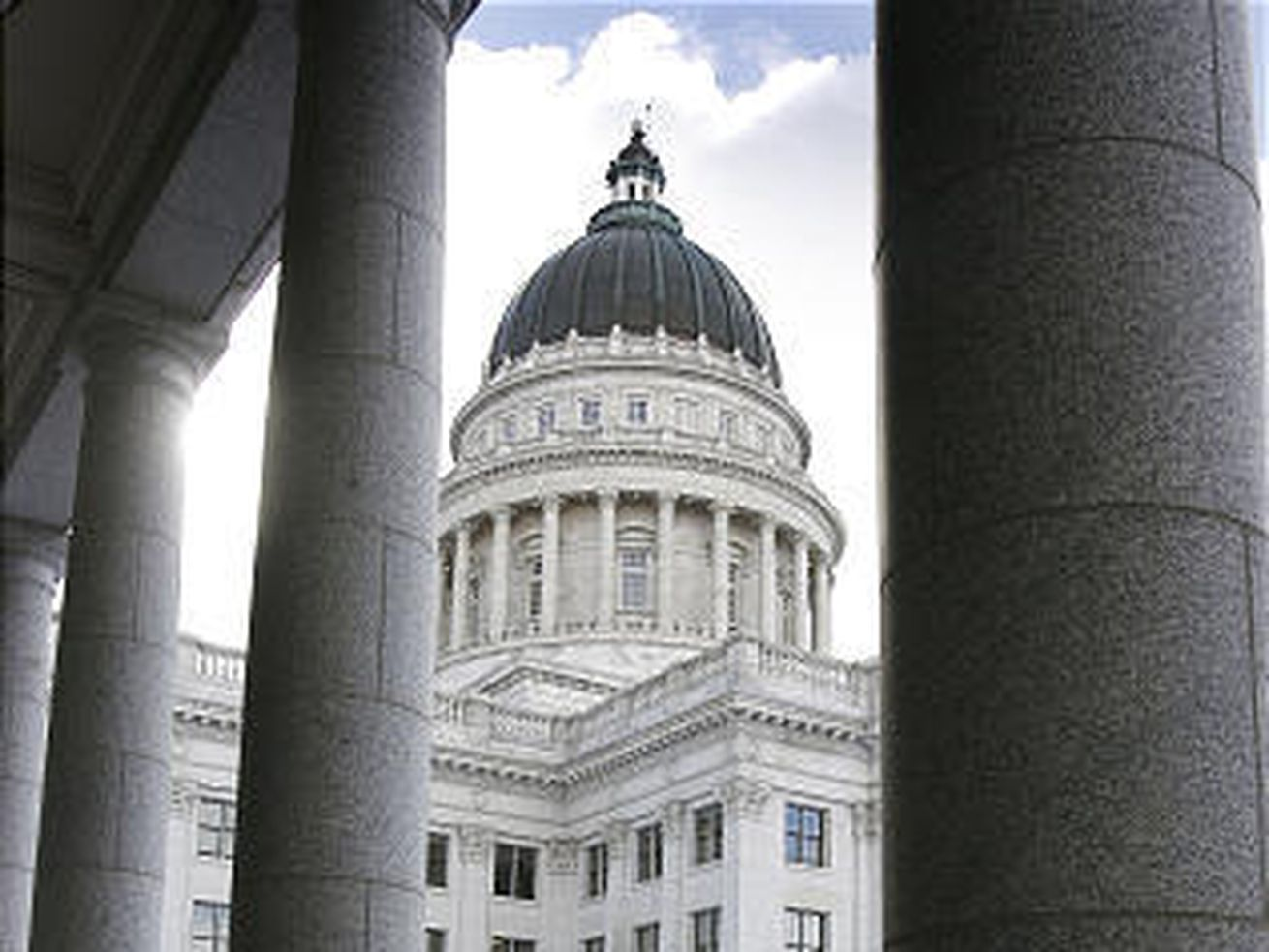 The State Capital building is almost finished with the remodeling Dec. 31, 2007.
