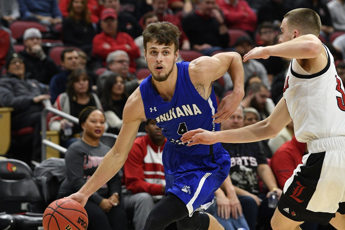 NCAA Basketball: Indiana State at Louisville