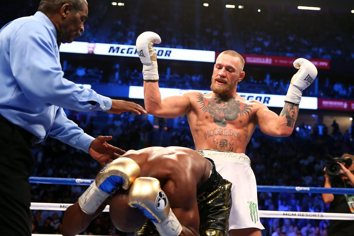 Conor McGregor says Floyd Mayweather is 'out' of fight negotiations - MMAmania.com