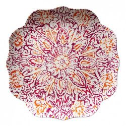 Serving Tray in Coral $12.99