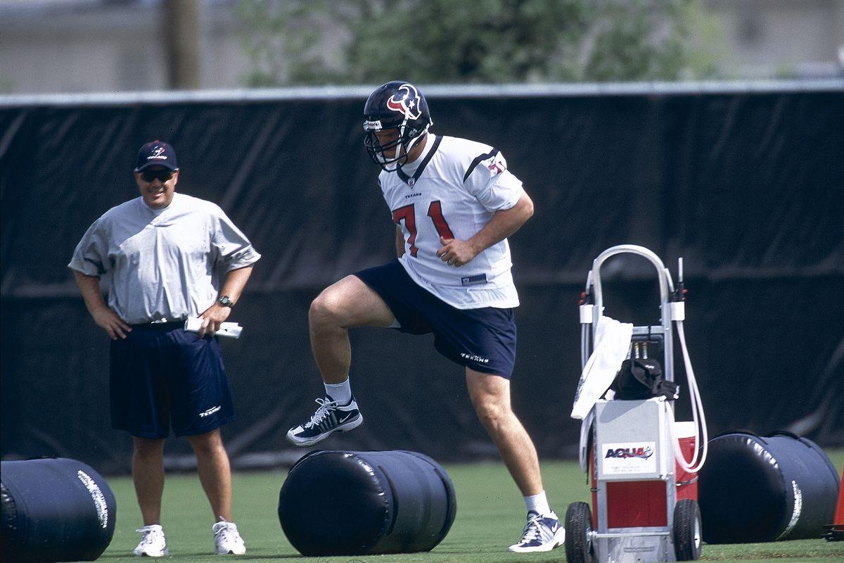 Houston Texans Tony Boselli...