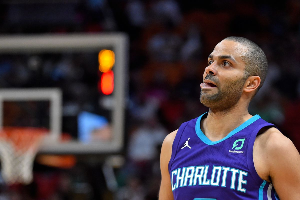f094ca9ab37d18 Tony Parker played for the Charlotte Hornets in 2019. How did he ...