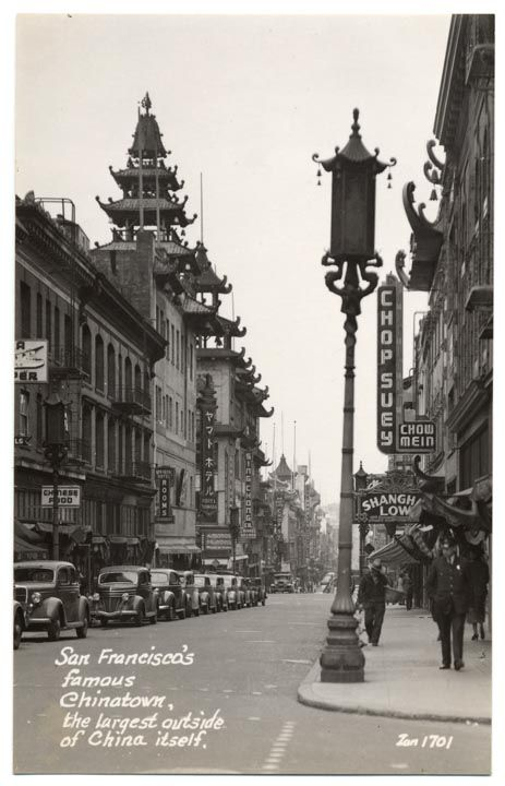 Chinatown in the 1940s.