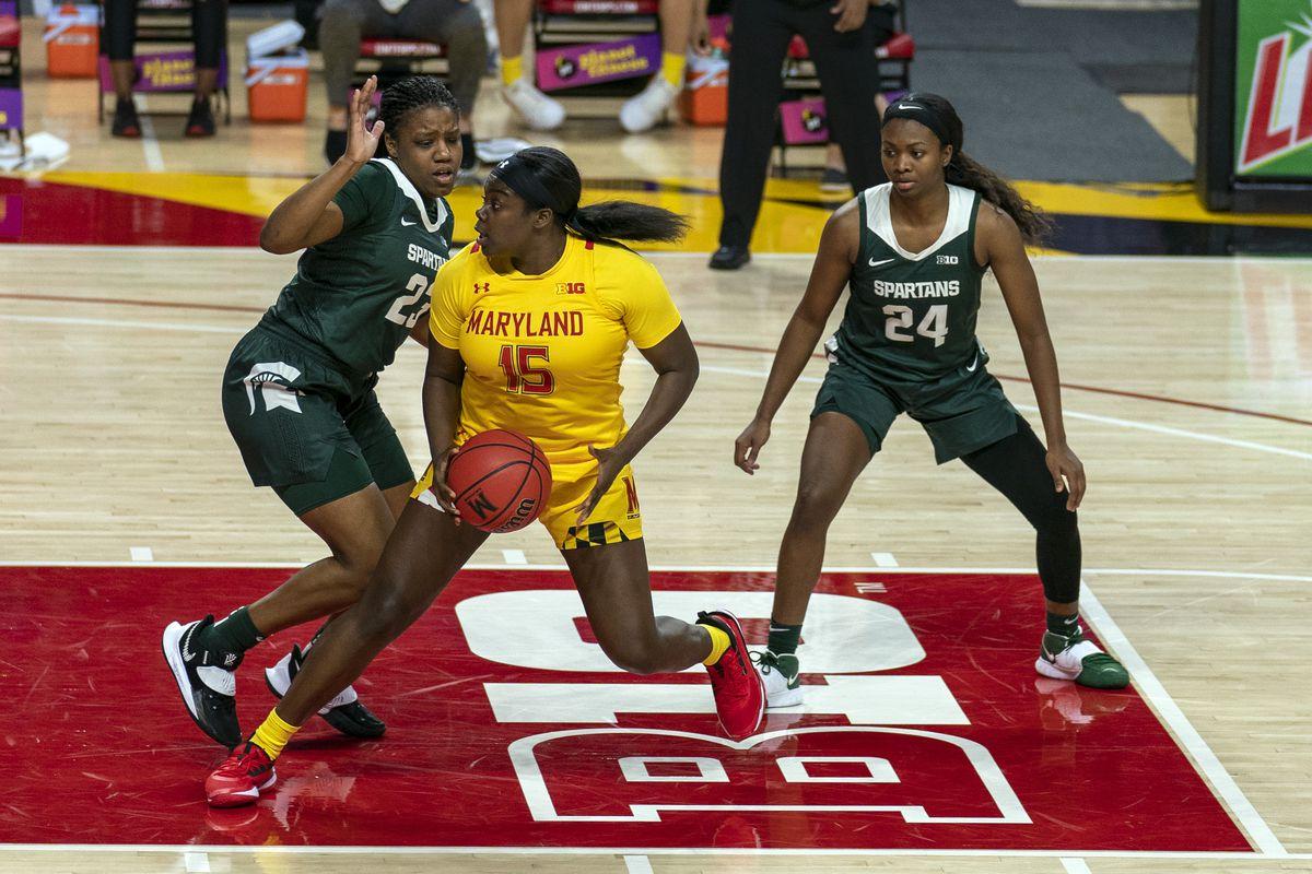 COLLEGE BASKETBALL: JAN 28 Womens - Michigan State at Maryland