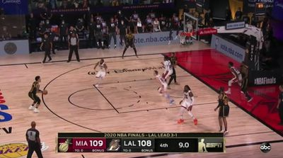 slack imgs - Danny Green missed a wide open three that could have won the Lakers the championship