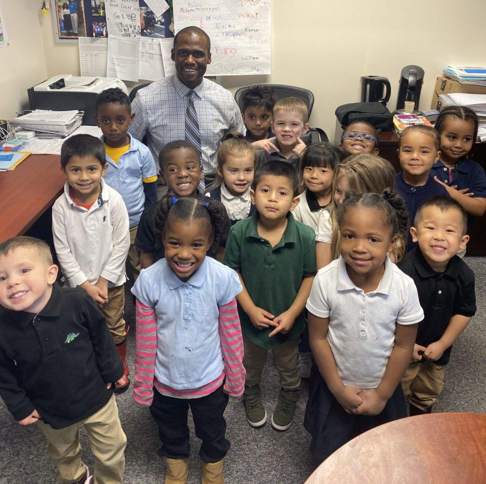 Blake Hammond is principal of Green Valley Elementary in Denver.