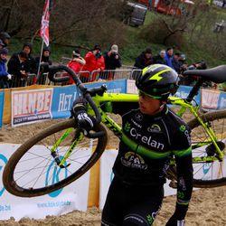 Sven warming up