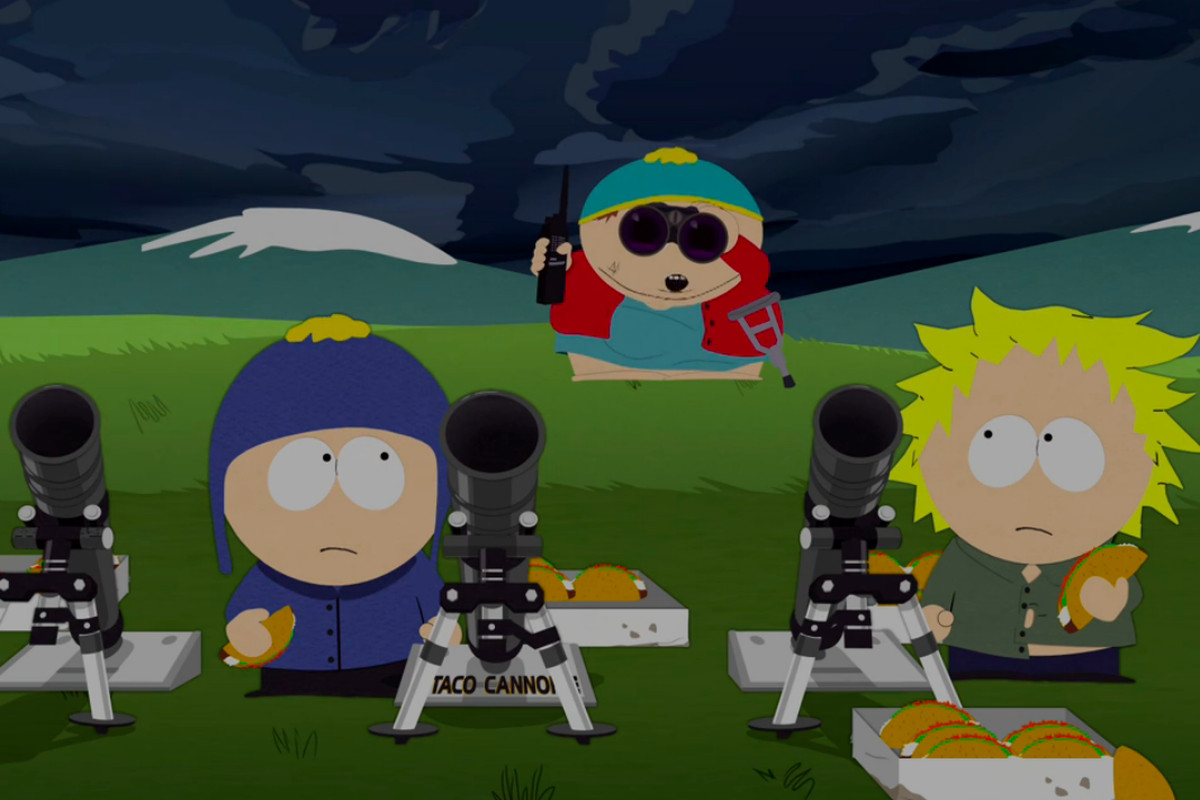 South Park's taco cannons