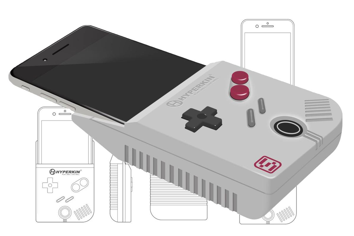 quality design 0e26f 33d97 The Smart Boy turns the iPhone 6 Plus into a working Game Boy - The ...