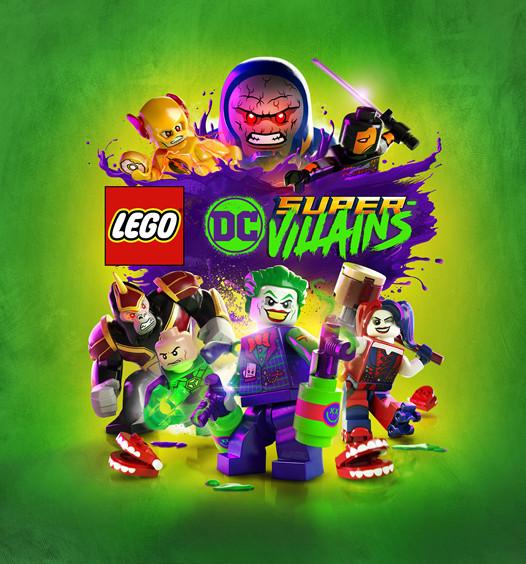 Lego DC Super-Villains box art