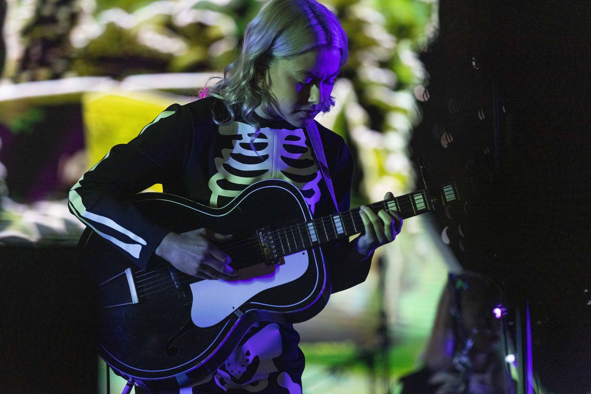 Phoebe Bridgers closes out Day 1 of Pitchfork Music Festival in Union Park on Friday night.
