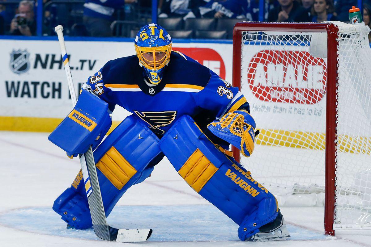 NHL: St. Louis Blues at Tampa Bay Lightning