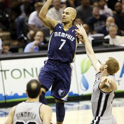 Bayless had a nice, soft floater that he shot pretty well in Memphis.