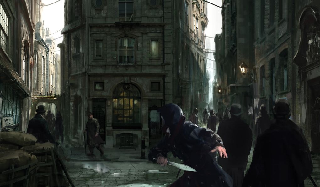 Up And Coming Areas In London >> The concept art behind Assassin's Creed Syndicate's beautiful Victorian London | The Verge