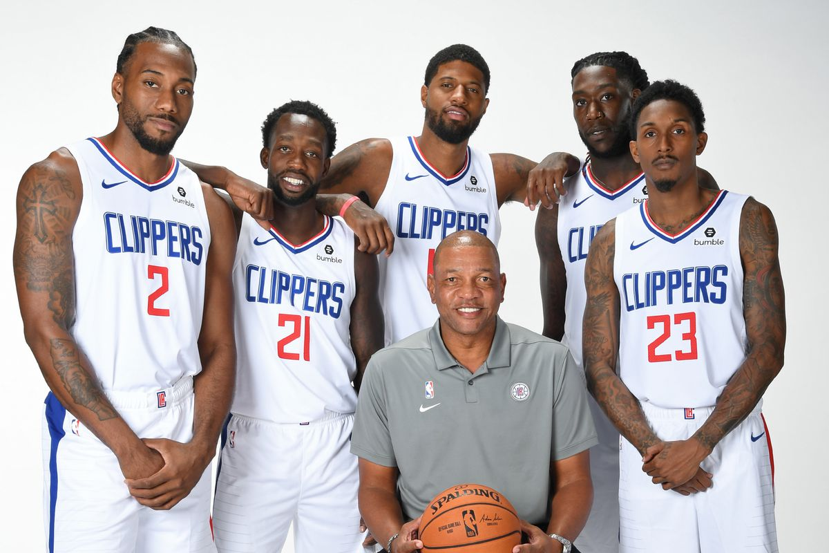 la clippers starting lineup 2020