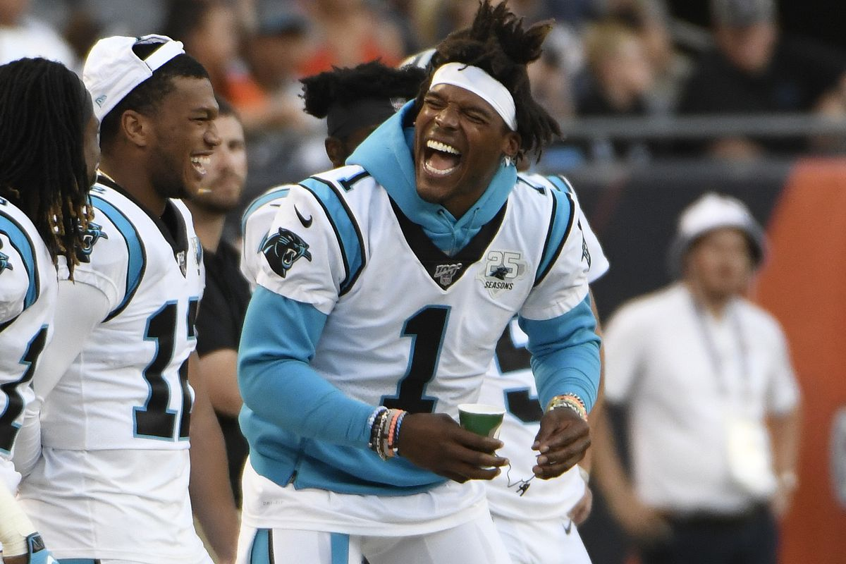 The Panthers released Cam Newton on Tuesday. Would he be a better fit with the Bears than Nick Foles?