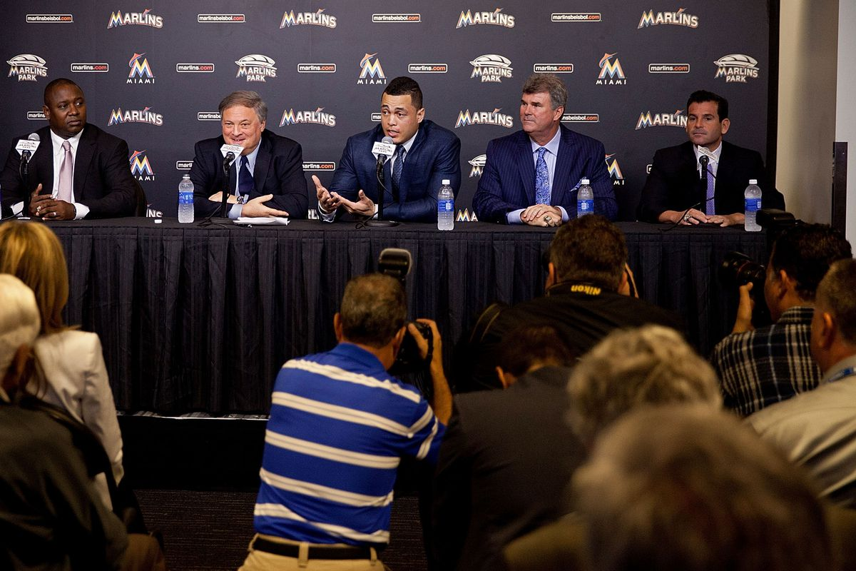 The Marlins' brain trust really does have only a few options for the offseason.
