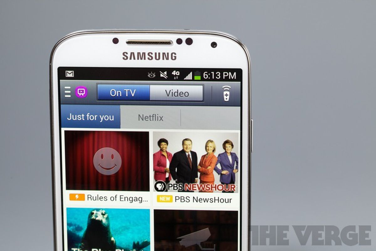 Galaxy S4 is the first smartphone to support Verizon's