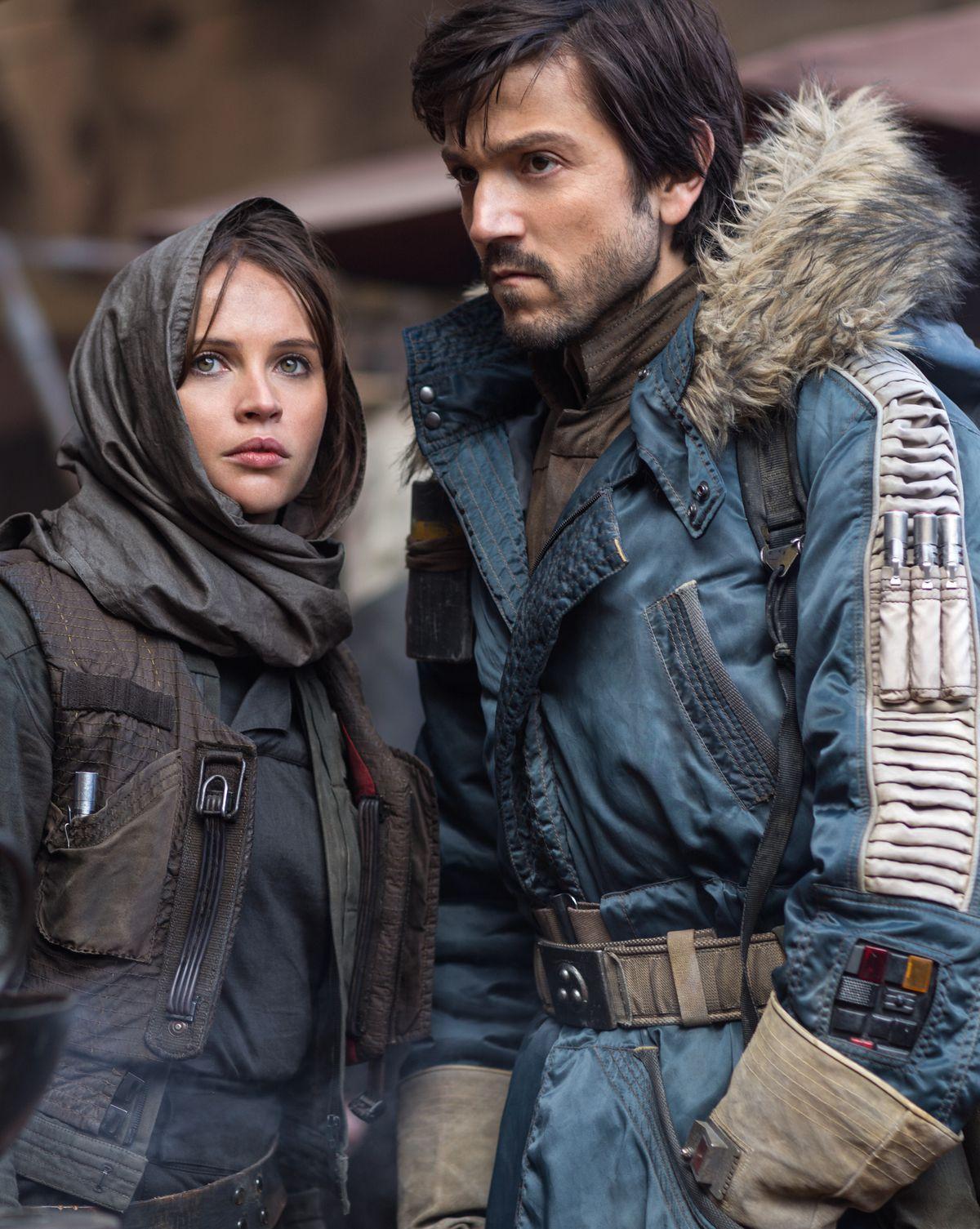 Rogue One - Jyn Erso, Captain Cassian Andor