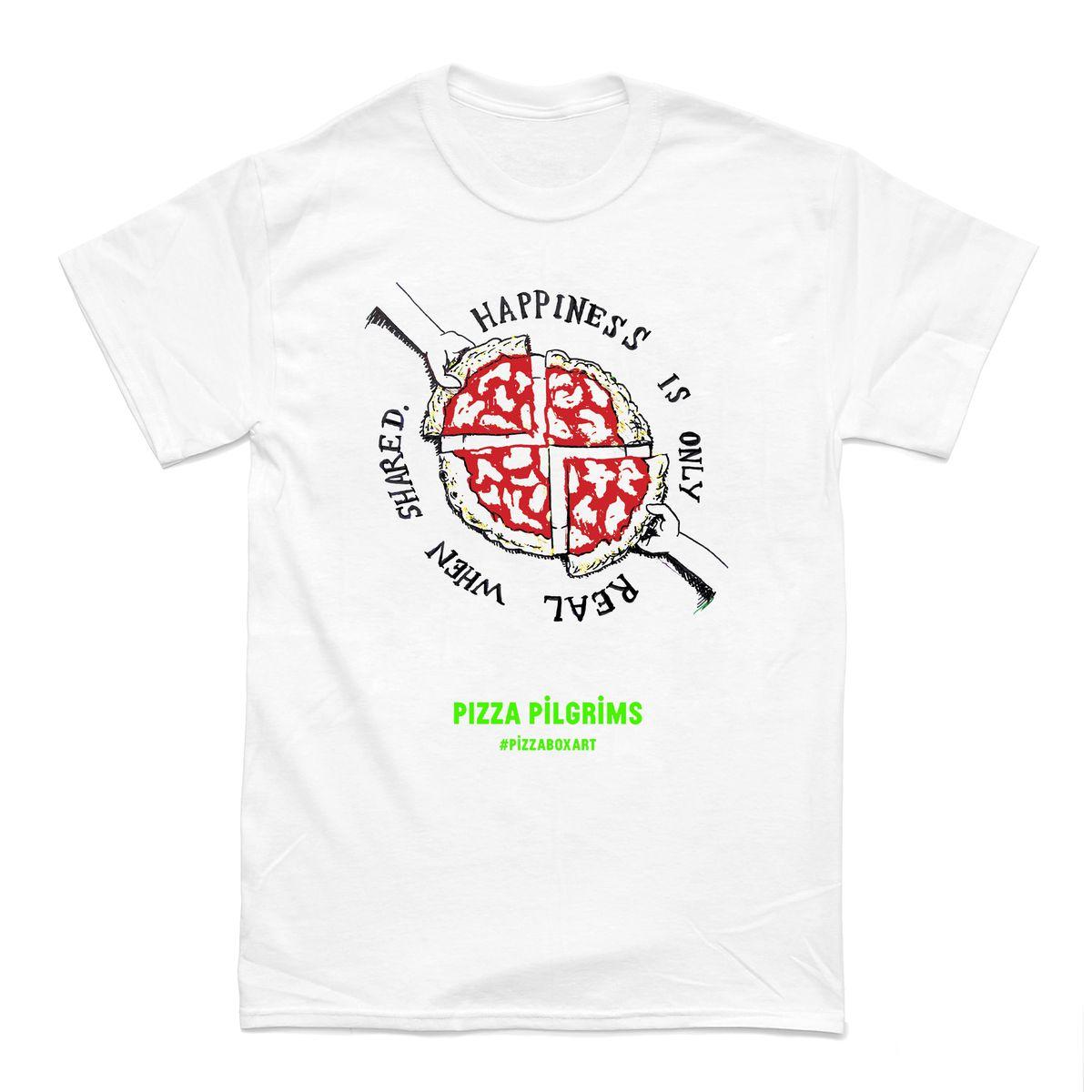 Pizza Pilgrims pizza t-shirt, merch