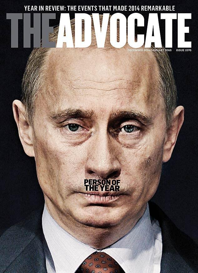 the advocate cover putin