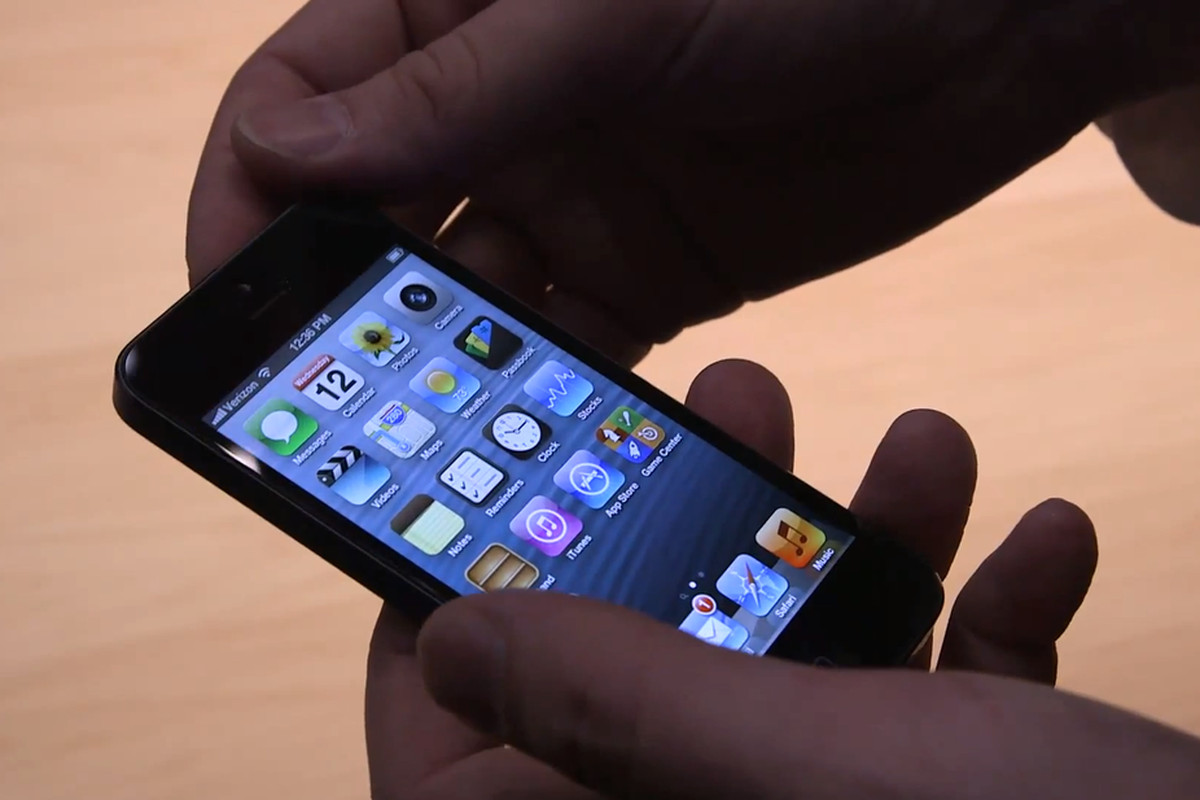 iphone 5 hands on
