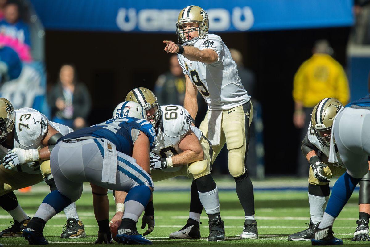 NFL: OCT 25 Saints at Colts